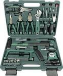 Jeu de 74 outils dans une mallette
