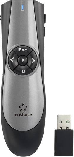 Télécommande de présentation sans fil Renkforce RF-PRE100