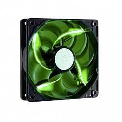 Ventilateur pour boîtier PC Cooler Master Sickelflow noir, vert (l x h x p) 120 x 120 x 25 mm
