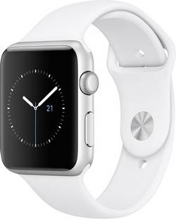 Apple Watch Sport Series 1 42 mm argent blanc