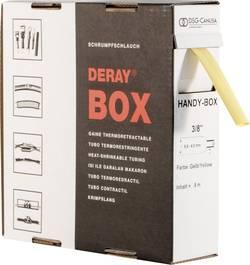 Gaine thermorétractable sans colle 2:1 DSG Canusa DERAY-Box 8610032102 jaune Ø avant retreint: 3.20 mm 10 m