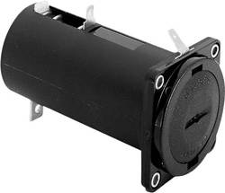 Bulgin BX0016 Support de pile 1 LR20 (D) connexion à souder (L x l x h) 93.5 x 46 x 46 mm
