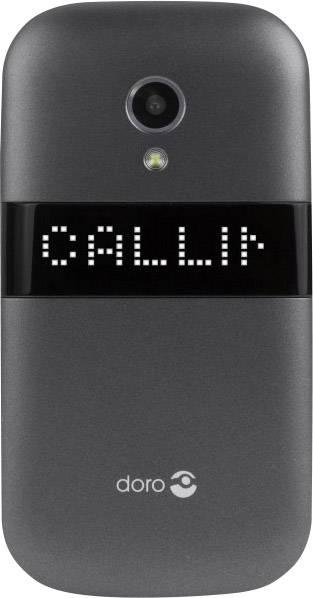 Téléphone portable à clapet pour séniors DORO 6050 graphite, blanc 87e7a681ea7f