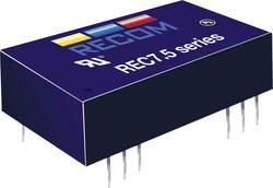 Convertisseur CC/CC pour circuits imprimés RECOM REC7.5-2412SRW/H2/A/M Nbr. de sorties: 1 x 24 V/DC 12 V/DC 625 mA 7.5 W