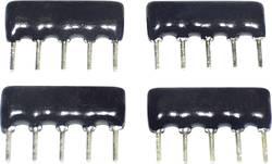 Résistance à couche épaisse TANCAP SIP-B08-474G 470 kΩ THT SIP-8 0.125 W 1 pc(s)