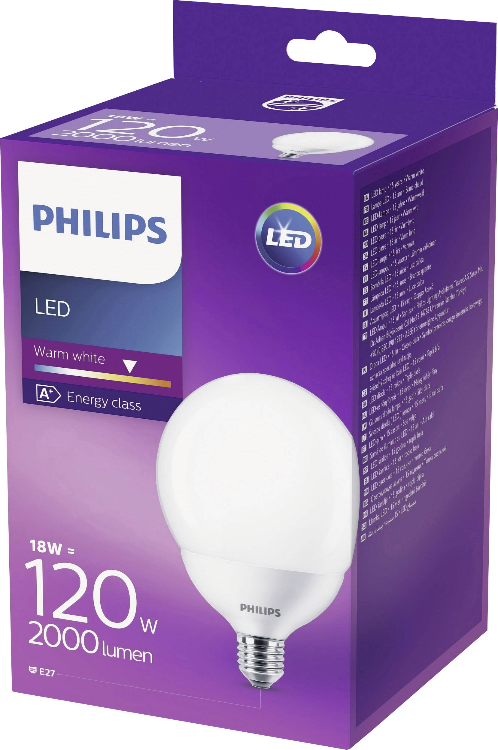 Philips Lighting AaEE27 Led Eec Classe F3TlK1Jc