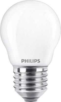 Philips Lighting LED E27 en forme de goutte 2.2 W=25 W blanc chaud (Ø x L) 45 mm x 78 mm EEC: classe A++ à filament 1