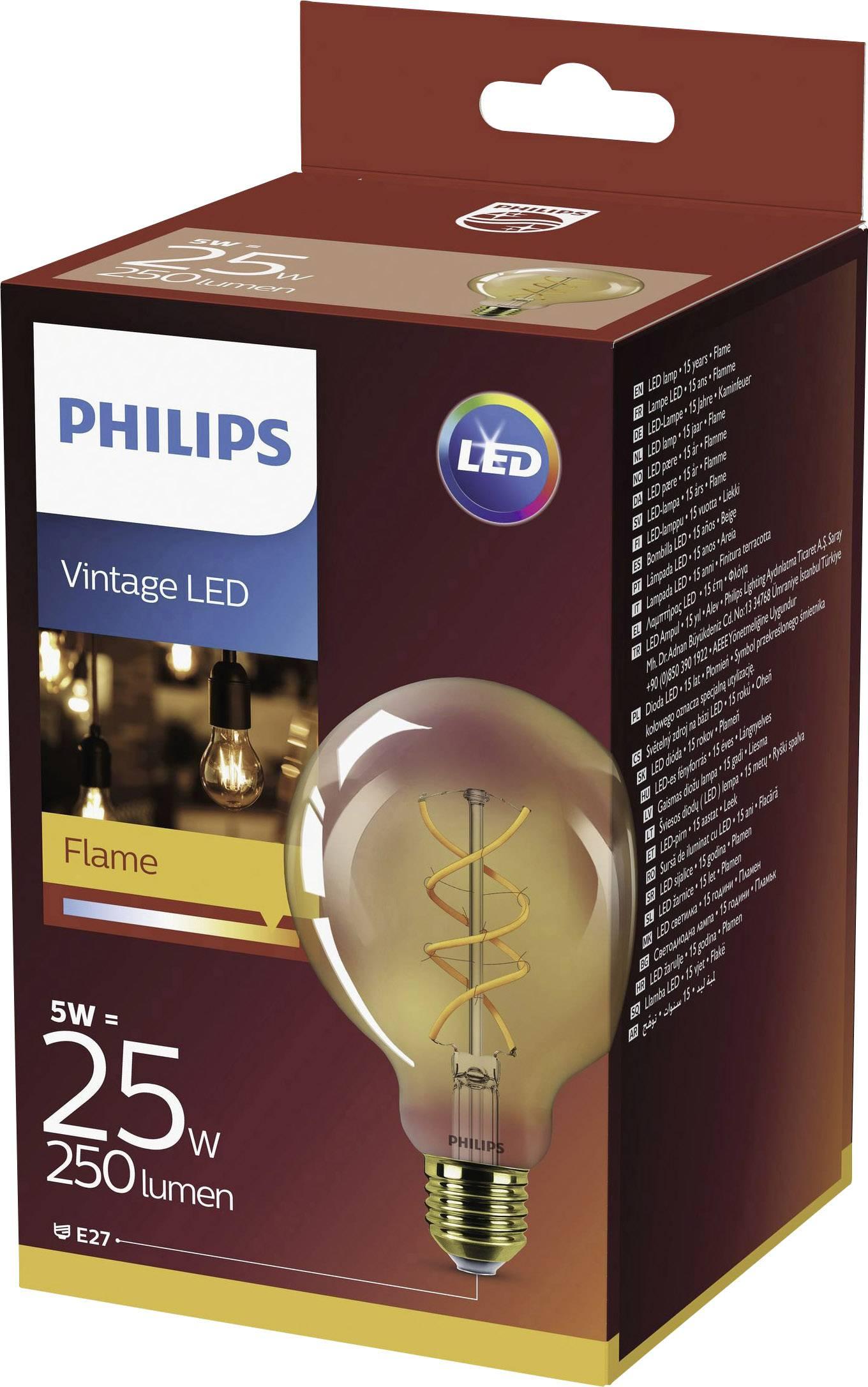 AaEE27 Globe 5 Led Eec Lighting W25 De Forme En Philips nOwvNy80m