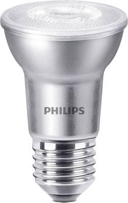 Philips Lighting LED E27 réflecteur 6 W=50 W blanc chaud (Ø x L) 64 mm x 85 mm EEC: classe A+ à intensité variable 1 p