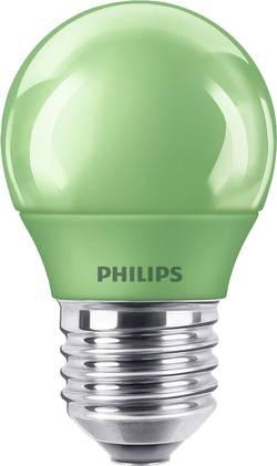 Philips Lighting LED E27 en forme de goutte 3.1 W=25 W vert (Ø x L) 45 mm x 78 mm EEC: classe C 1 pc(s)