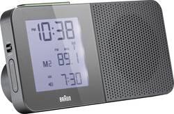 Réveil radiopiloté(e) Braun 66043 gris