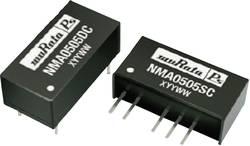 Convertisseur CC/CC pour circuits imprimés Murata Power Solutions NMA1212SC Nbr. de sorties: 2 x 12 V/DC 12 V/DC, -12 V/
