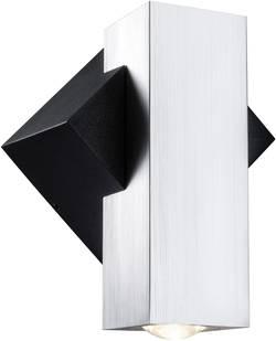 Applique murale LED extérieure Paulmann Flame 18006 LED intégrée aluminium (brossé), noir