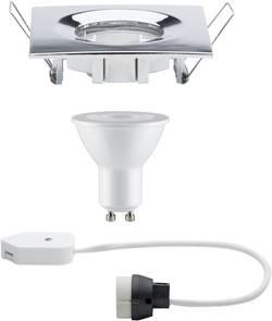 Luminaire encastrable pour salle de bain LED GU10 7 W IP65 Paulmann Nova chrome