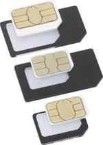Adaptateur SIM Set Basetech;BT-SIMA-AIO;Adapte de: Nano SIM, Micro SIM;Adapte vers: Micro SIM, Standard SIM