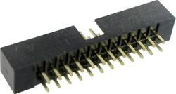 Connectique fil-à-carte sans levier d'éjection Pas: 2 mm Nbr total de pôles: 1