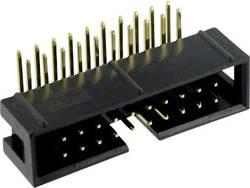 Connectique fil-à-carte sans levier d'éjection Pas: 2.54 mm Nbr total de pôles