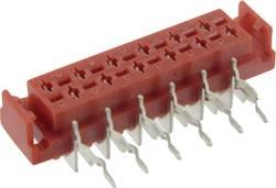 Boîtier femelle (platine) série Micro-MaTch TRU COMPONENTS D28c-10 BTAB6-G 1589873 Nbr total de pôles 10 Pas: 2.54 mm 1