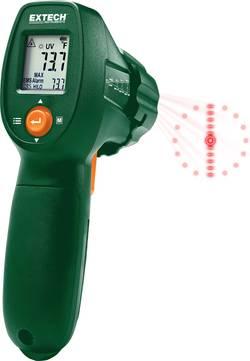 Thermomètre infrarouge Extech IR300UV Optique (thermomètre) 12:1 -30 à +500 °C lampe de poche LED Etalonné selon: d'usin