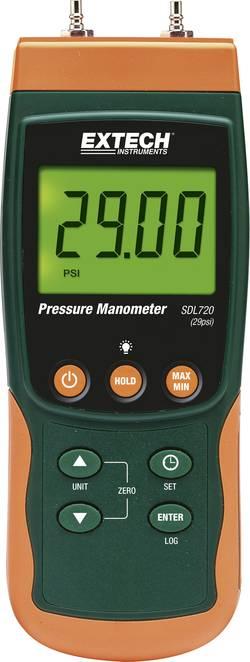 Manomètre de pression différentielle Extech SDL720