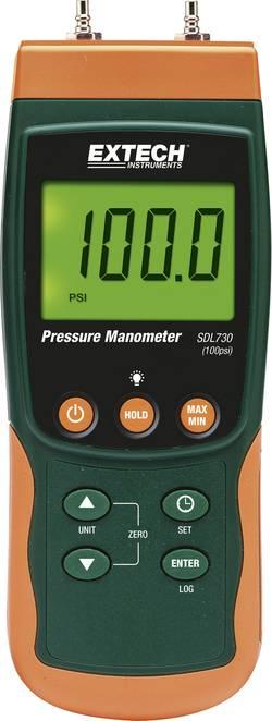 Manomètre de pression différentielle Extech SDL730