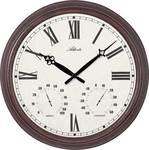 Horloge murale à quartz pour l'intérieur et l'extérieur