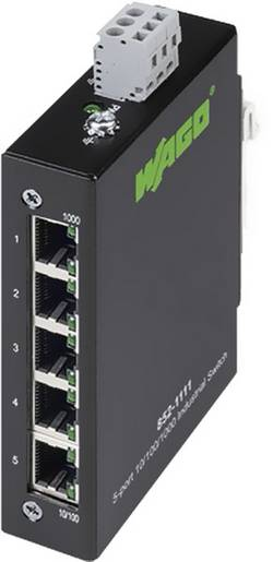 WAGO 852-1111 Ports Ethernet: 5 1 pc(s)