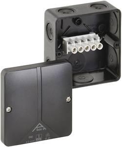 Boîte de raccordement Spelsberg Abox-i 040-4²/sw 49140401 (L x l x h) 93 x 93 x 55 mm noir IP65