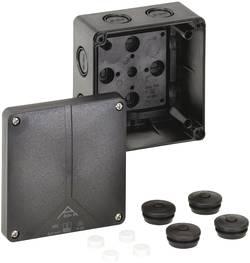 Boîte de raccordement Spelsberg Abox-i 060-L/sw 49190601 (L x l x h) 110 x 110 x 67 mm noir IP65
