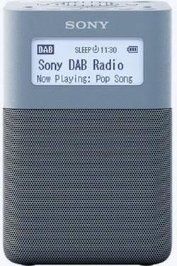Radio-réveil FM Sony XDR-V20D bleu