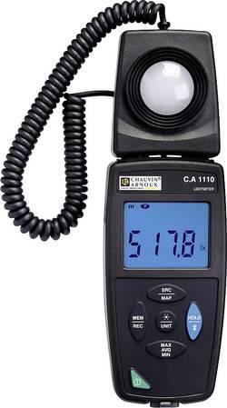 Luxmètre C.A 1110 + enregistreur de données Chauvin Arnoux P01654110