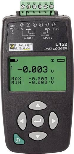 Chauvin Arnoux L452 Enregistreur de données multifonctions Unité de mesure ten