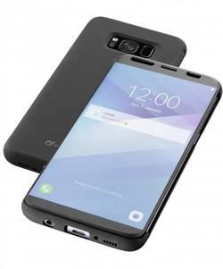 Coque avec rabat Cellularline BOOKTOUCHGALS8KK Adapté pour: Samsung Galaxy S8 semi-transparent
