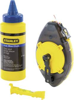 Stanley by Black & Decker 0-47-465 Kit cordeau traceur PowerWinder 30 m
