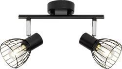 Spot de plafond Brilliant Blacky E14 80 W noir