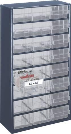 Armoire à tiroirs raaco 137409 (L x l x h) 306 x 150 x 552 mm Nombre de compartiments: 24 1 pc(s)