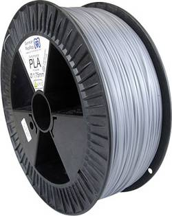 Filament German RepRap 100531 plastique PLA 1.75 mm gris (satiné mat) 2.1 kg