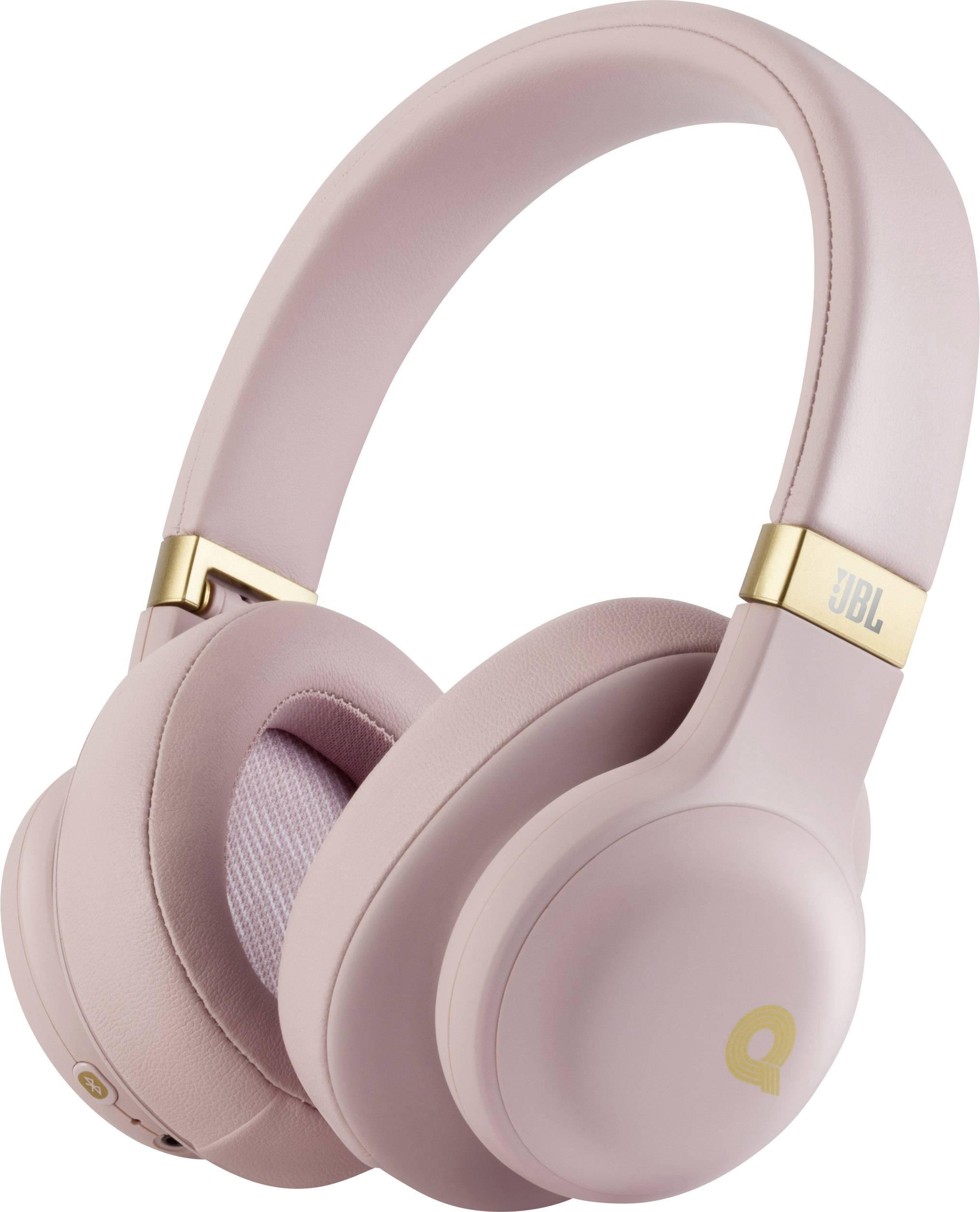 Jbl E55bt Bluetooth Hi Fi Ecouteurs Circum Aural Micro Casque Rose