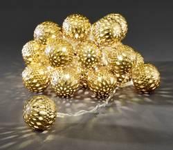 Guirlande lumineuse à motifs pour l'intérieur Konstsmide 3156-803 LED blanc chaud balles 1 pc(s)