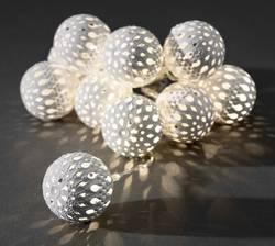 Guirlande lumineuse à motifs pour l'intérieur Konstsmide 3157-103 LED blanc chaud balles 1 pc(s)