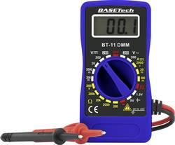 Multimètre Basetech BT-11 numérique Etalonné selon: d'usine (sans certificat) CAT III 250 V Affichage (nombre de point