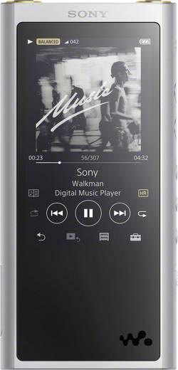 Lecteur MP3 Sony 64 Go argent