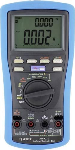 Metrel MD 9070 Appareil de mesure d'isolement 50 V, 100 V, 250 V, 500 V, 1000 V 25.0 GΩ Etalonné selon d'usine (sans cer
