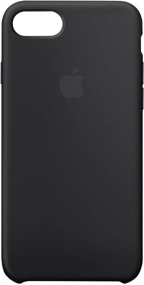 coque iphone 7 apple silicone noir