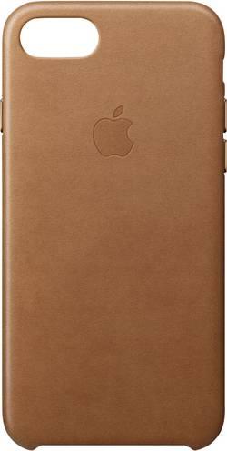 Coque arrière Apple Leather Case Adapté pour: Apple iPhone 8, Apple iPhone 7, marron