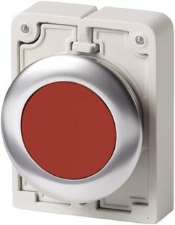 Bouton-poussoir à accrochage plat, rond, chromé Eaton M30C-FDR-R 182944 rouge 1 pc(s)