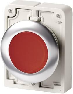Bouton-poussoir à accrochage plat, rond, chromé Eaton M30C-FDRL-R 182951 rouge 1 pc(s)