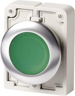 Bouton-poussoir à rappel plat, rond, chromé Eaton M30C-FDL-G 182927 vert 1 pc(s)