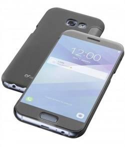 Coque arrière Cellularline BOOKTOUCHGALA517KK Adapté pour: Samsung Galaxy A5 (2017) semi-transparent