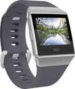 Bracelet de rechange FitBit FB164ABWTGYS Taille=S bleu-gris, argent